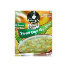 Chings Sweet Corn veg Soup powder
