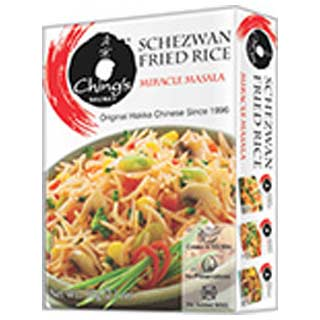 Chings new schezwan fried rice masala