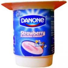 Danone Yoghurt Strawberry