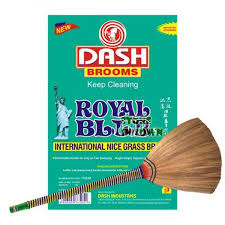 Dash Brooms Royal Blue