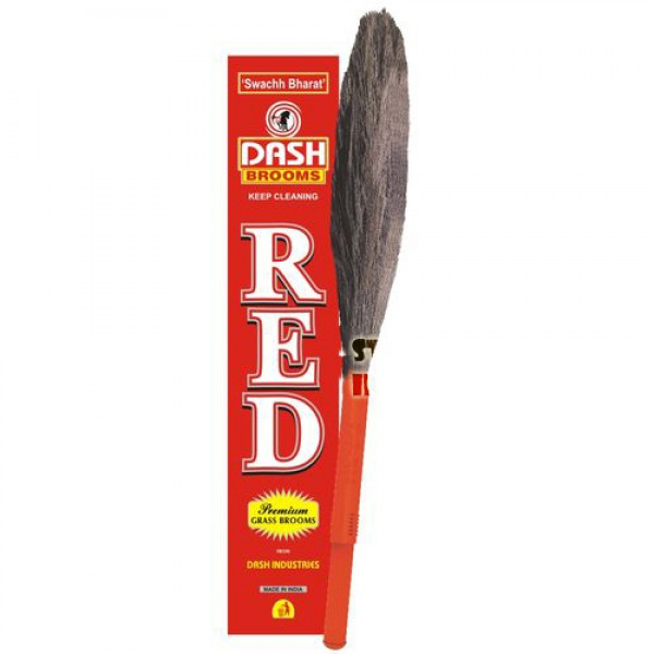 Dash Grass Broom Red
