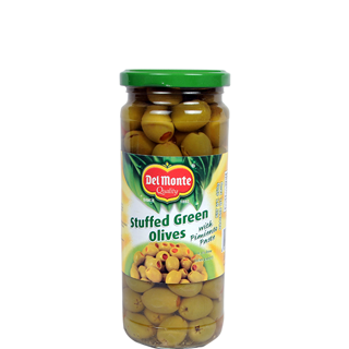 Del Monte Green olive Stuffed with pimiento