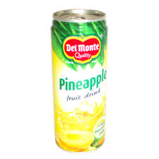 Del monte Fruit Drink Pineapple with Real Pineapple Pulp