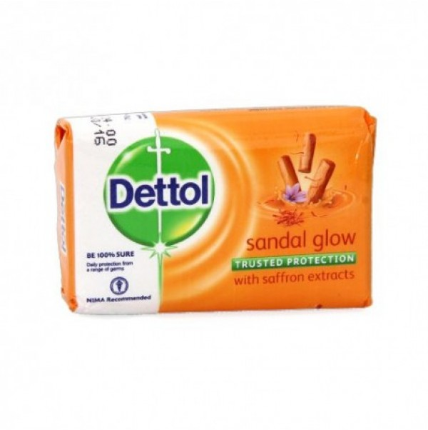 Dettol Bathing Soap Sandal Glow with Saffron extracts