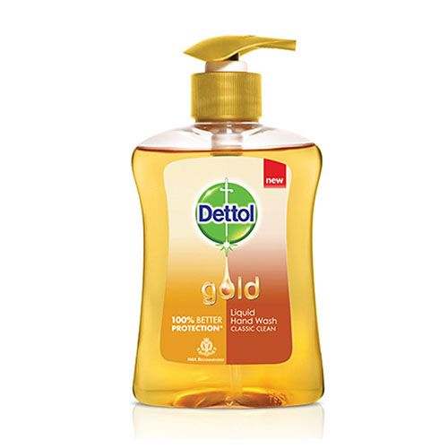 Dettol Gold Liquid Hand Wash Classic Clean