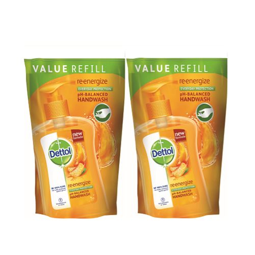 Dettol Hand Wash PH Balanced Re Energize Pack of 2