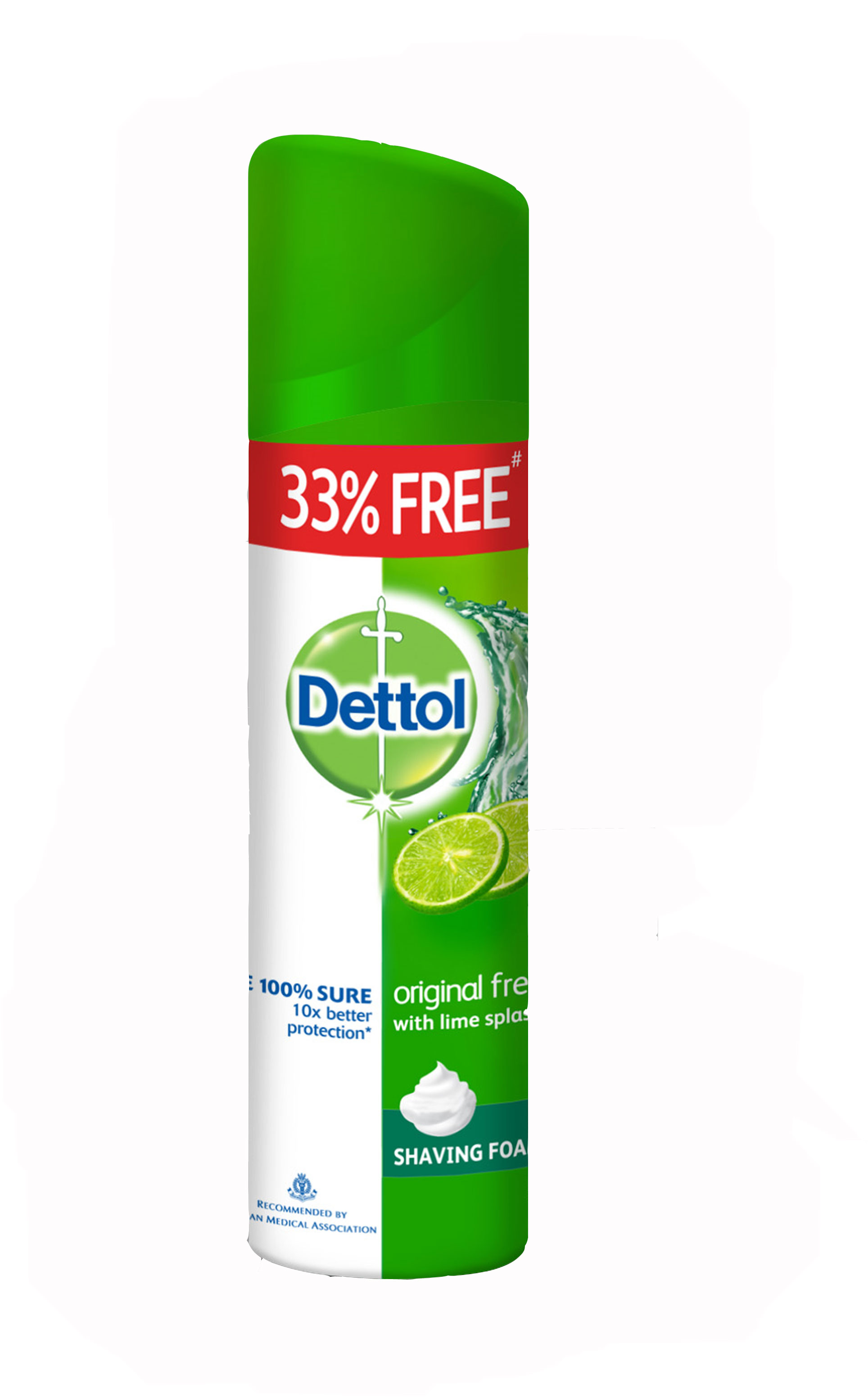 Dettol Shaving Foam Original Fresh