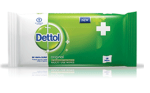 Dettol Wet Wipes Multi Use 10 Wipes