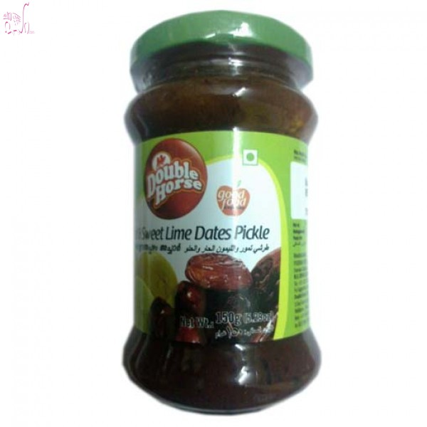 Double horse Pickle Hot and Sweet Dates