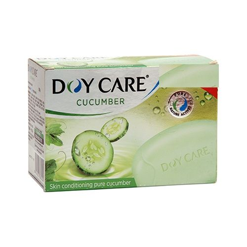 Doy Care Bathing Soap Cucumber Pack of 4
