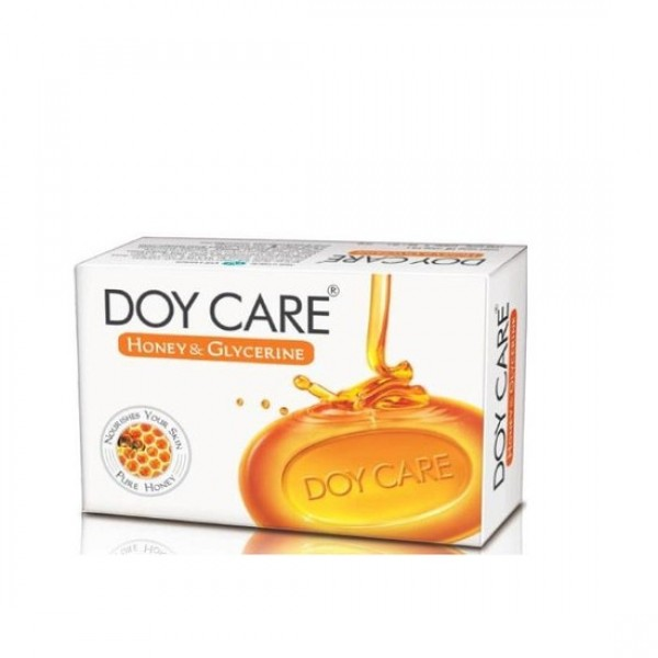 Doy Care Honey and Glycerine Soap Pack of 4