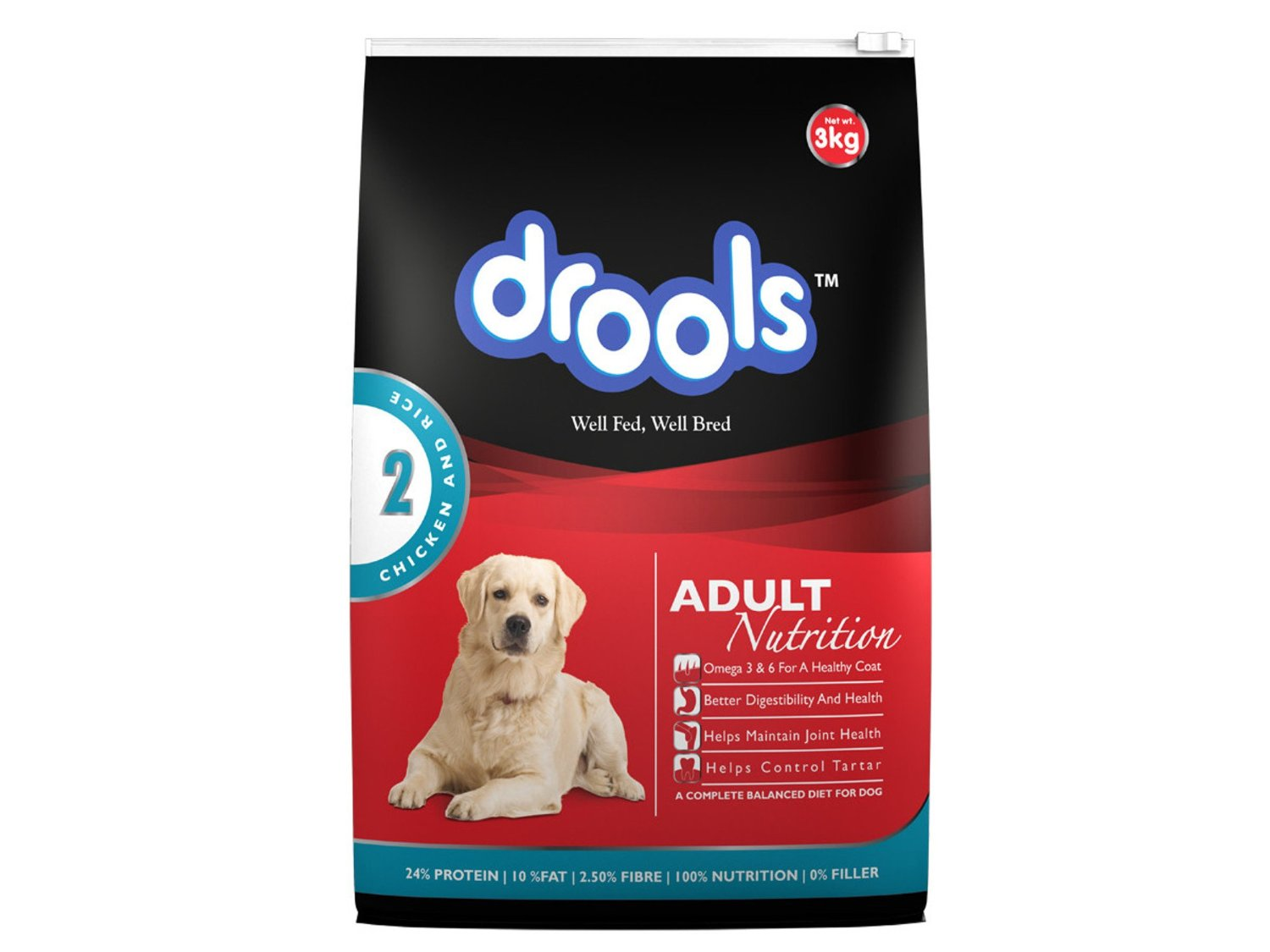 Drools Complete Nutrition for Adult 100 Percent Vegetarian