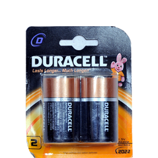 Duracell 1 5 V Alkaline D Battery 2 pc Set