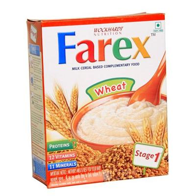 Farex Milk Cereal Based Complementary Food Wheat RF