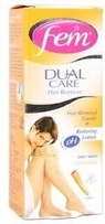 Fem Dual Care Chandan Hair Removal Cream