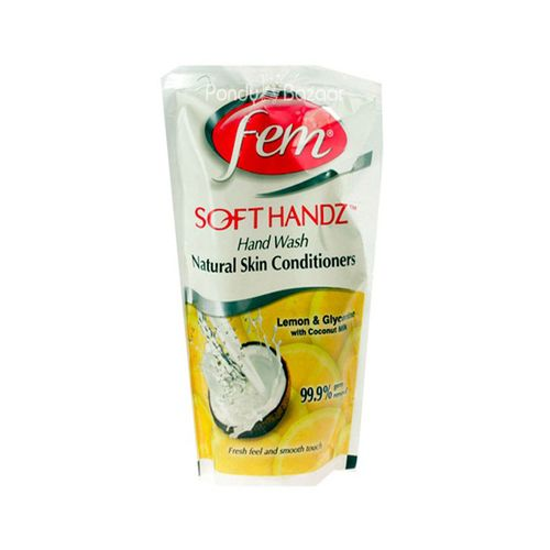 Fem Soft Handz Hand Wash Lemon and Glycerin with Coconut Milk