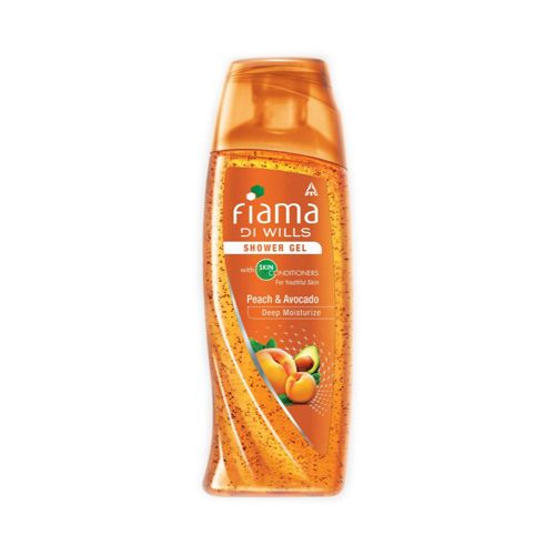 Fiama Di Wills Shower Gel Peach and Avocado Mild Dew