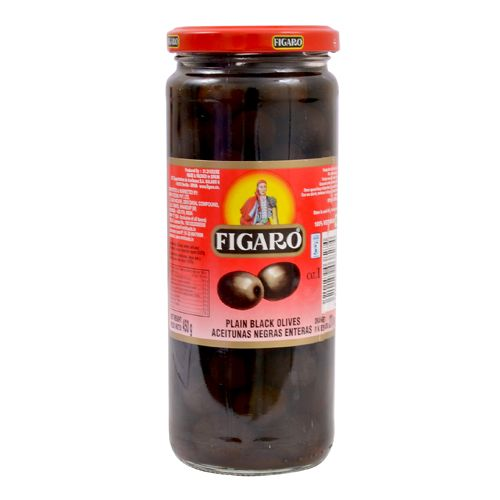 Figaro Olives Plain Black