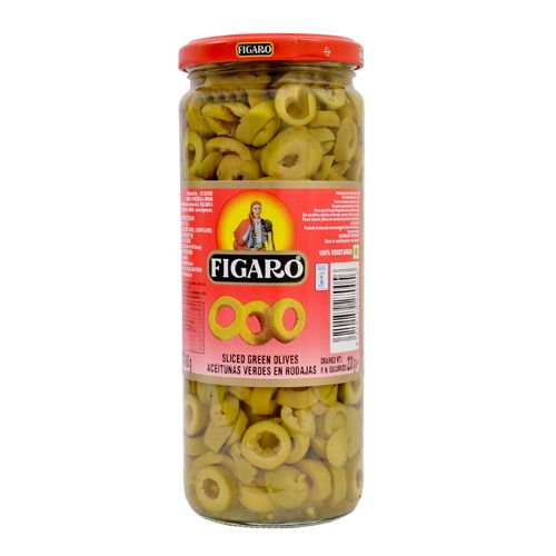 Figaro Olives Sliced Green