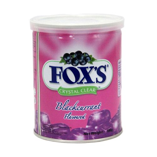 Foxs Crystal Clear Blackcurrant Flavor