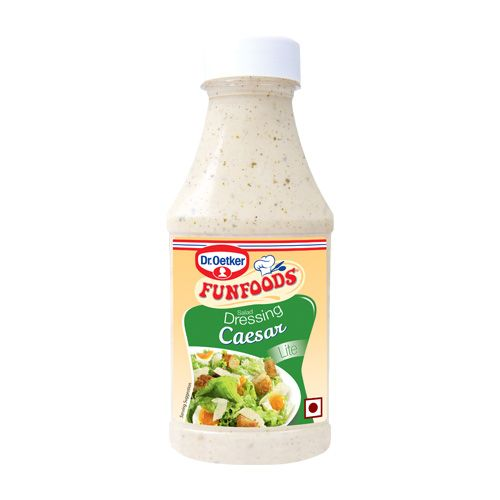 Fun Foods Dressing Caesar Salad