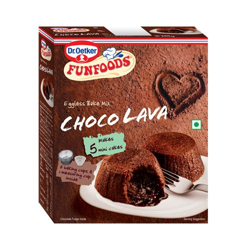 Fun Foods Eggless Bake Mix Choco Lava