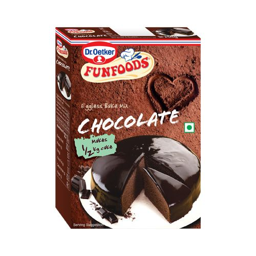 Fun Foods Eggless Cake Mix Chocolate