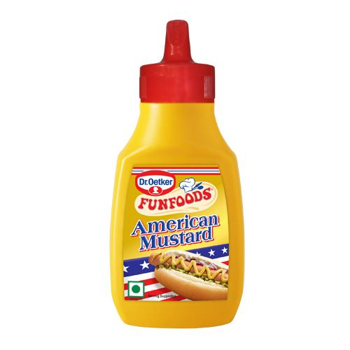 Fun Foods Mustard American Bottle