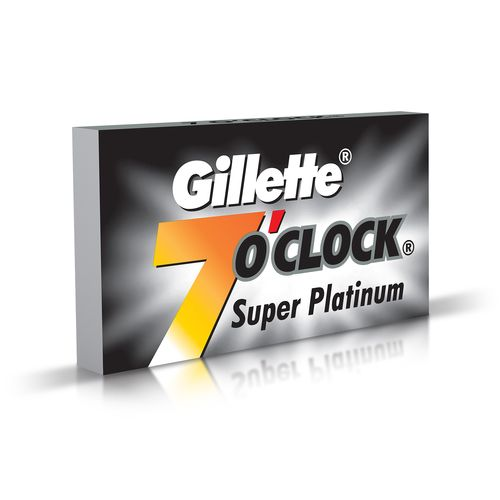 Gillette 7 o Clock Super Platinum Blades