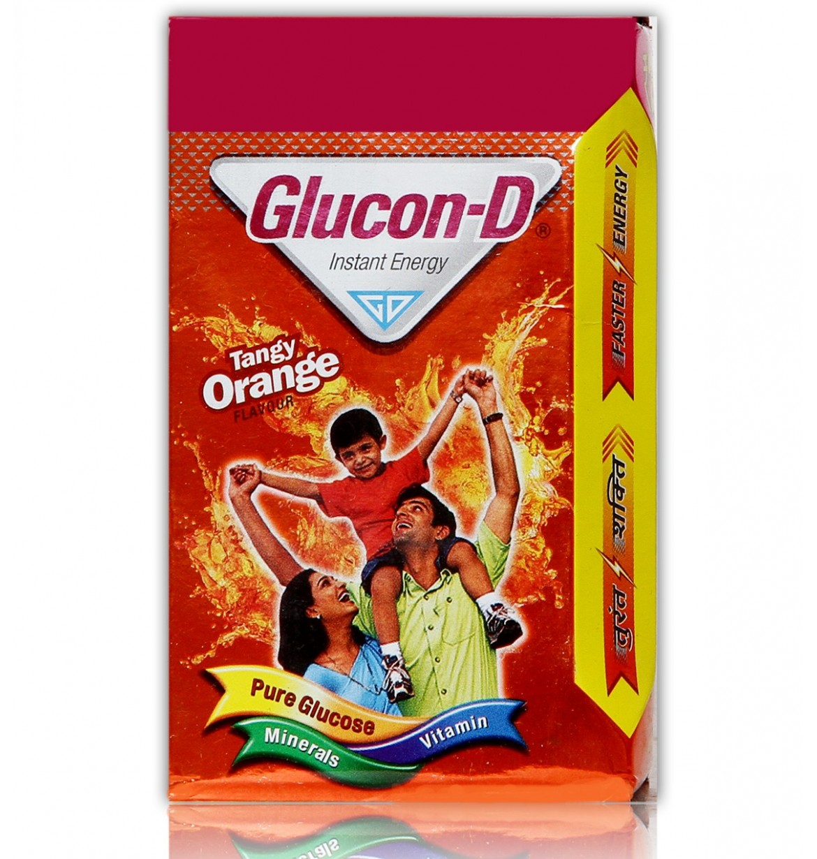 Glucon D Pure Glucose Tangy Orange