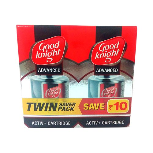Good knight Advanced Active Plus Cartridge Twin Saver Pack