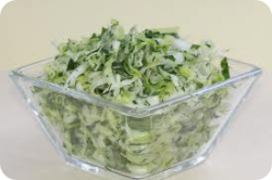 Green Cabbage Grated