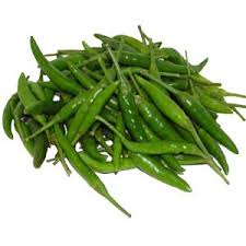 Green Chilly Organically Grown