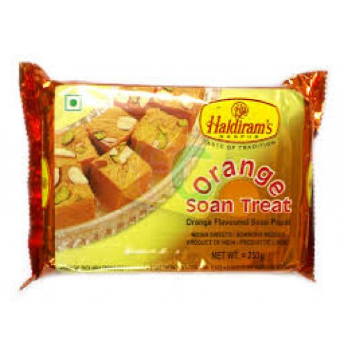 Haldirams Soan Papdi Orange