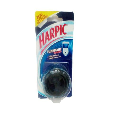 Harpic Toilet Cleaner Flushmatic Clear Blue