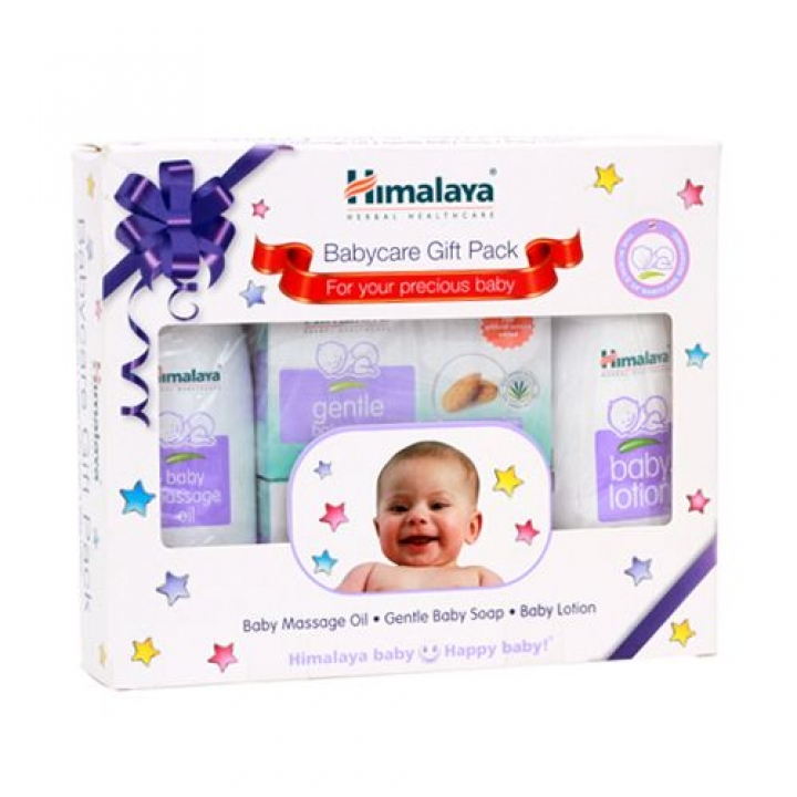Himalaya Baby Kit Baby Massage Oil Gentle Baby Soap Baby Lotion