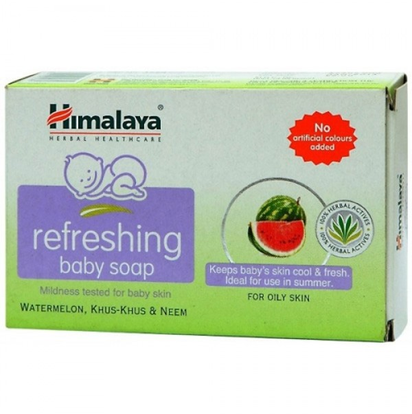Himalaya Refreshing Baby Soap Watermelon Khus Khus and Neem