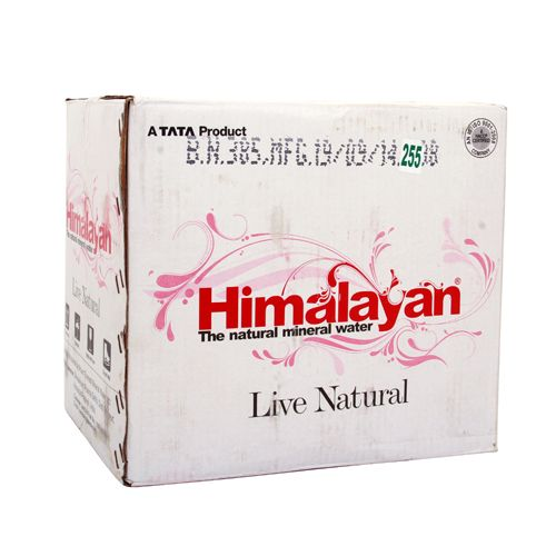 Himalayan Natural Mineral Water Carton 1 ltr Carton Pack of 12