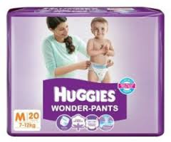 Huggies Wonder Pants Diapers Medium 7 to 12 kgs 20 pcs