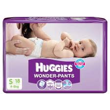 Huggies Wonder Pants Diapers Small 4 to 8 kgs 18 pcs