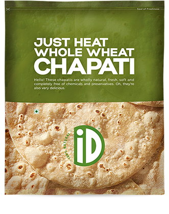 Id Just Heat Whole Wheat Chapti