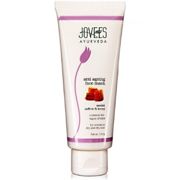 Jovees Anti Ageing Face Mask Ayurveda Sandal Saffron and Honey
