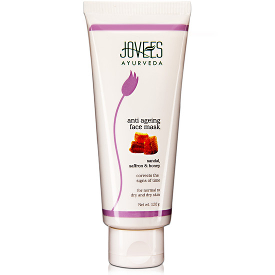 Jovees Anti Ageing Sandal Saffron and Honey Face Mask