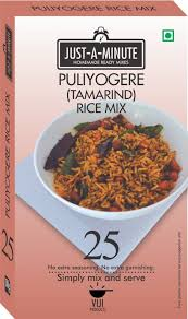 Just A Minute Puliyogere Rice Mix Powder