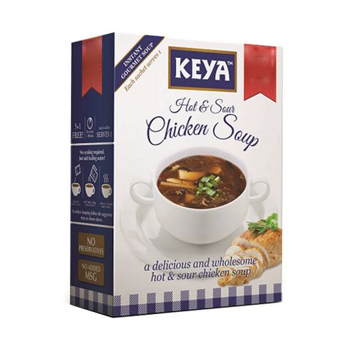 Keya Instant Cup A Soup Hot and Sour Chicken