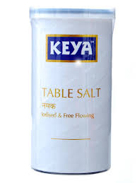 Keya Table Salt Iodised and Free Flowing