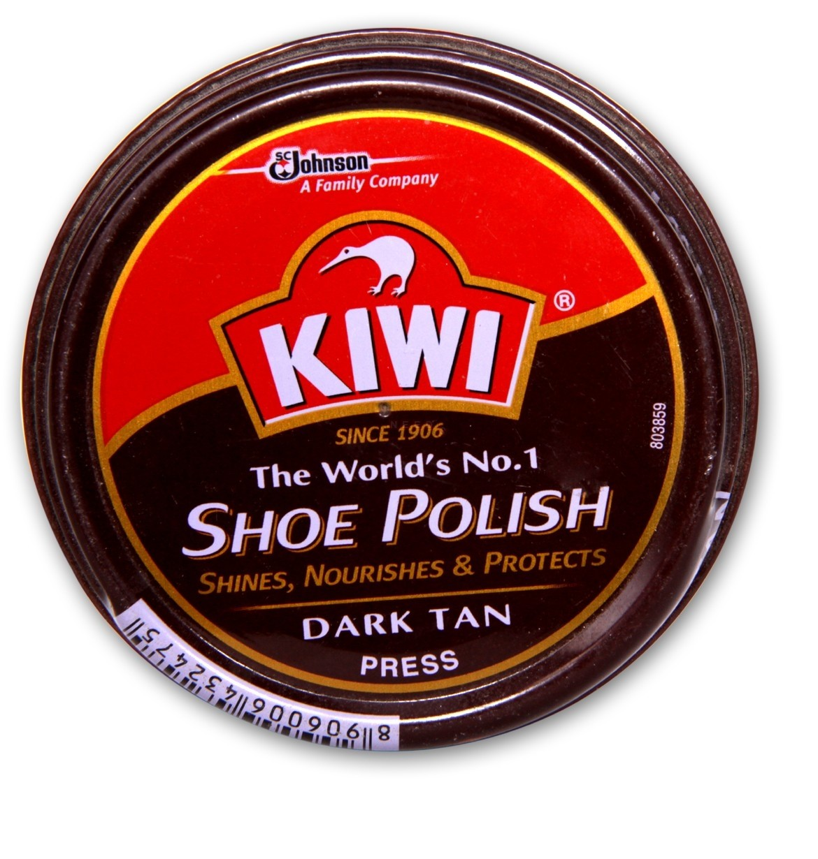 Kiwi Shoe Polish Dark Tan