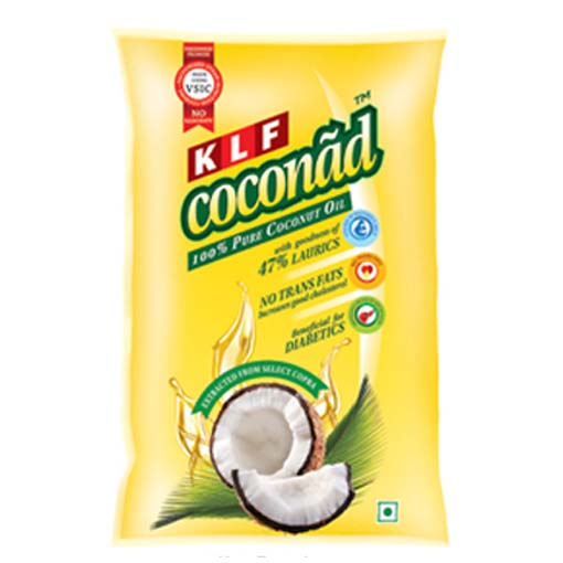Klf Coconad Coconut Oil 1 ltr Pouch