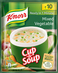 Knorr Instant Mixed Vegetable Cup A Soup