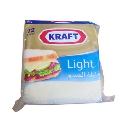 Kraft Cheese Light Processed Cheddar slices